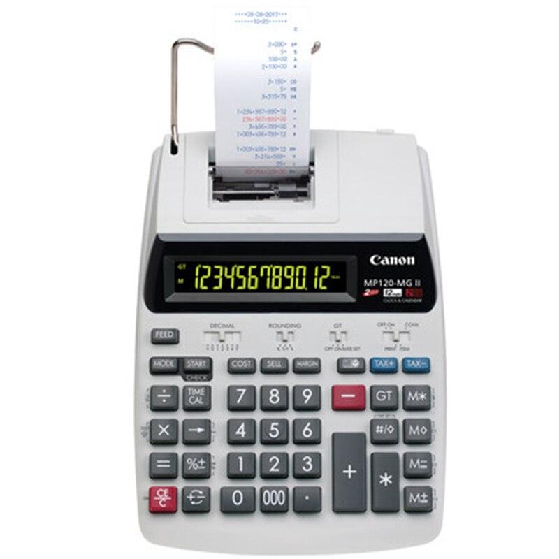1 قطعة كانون MP-120MG طباعة حاسبة طباعة الأفعى الأعمال مكتب الكمبيوتر
