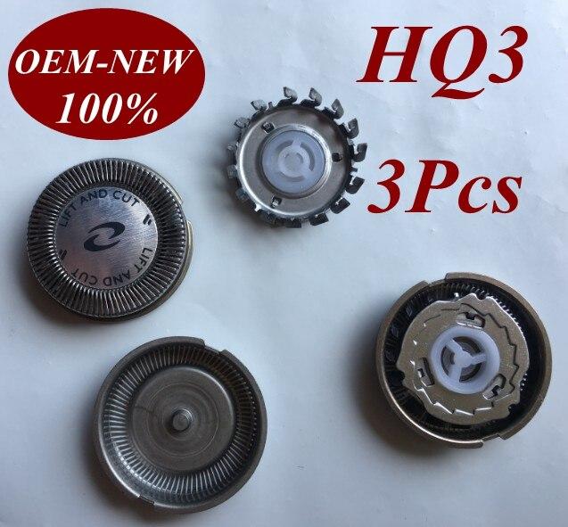 3 uds HQ3 HQ4 HQ54 reemplazar la hoja de afeitar para Philips máquina de afeitar eléctrica HQ6831 HQ6842 HQ6843 HQ6844 HQ6849 HQ6853 HQ6854 HQ6855