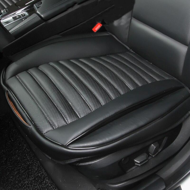 Cubierta de asiento de coche fundas de asientos de cuero accesorios de cuero para nissan altima JUKE patadas de micra murano z51 navara d40 nota pathfinder