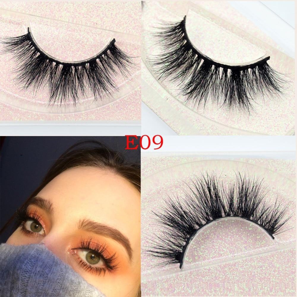 Mink Eyelashes Natural False Eyelashes Cruelty Free 100% Real 3D Mink Lashes Makeup Long Eye Lashes Eyelash Extension Cilios 3D