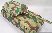 Tanque Maus Panzer VIII: modelo de papel 3D