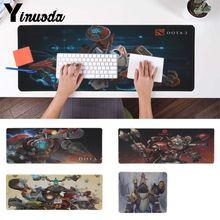 Yinuoda niestandardowe skóry Dota 2 Clockwerk dostosowane laptop podkładka pod mysz do gier anime podkładka pod mysz podkładka pod mysz klawiatura stół mata do CSGO DOTA