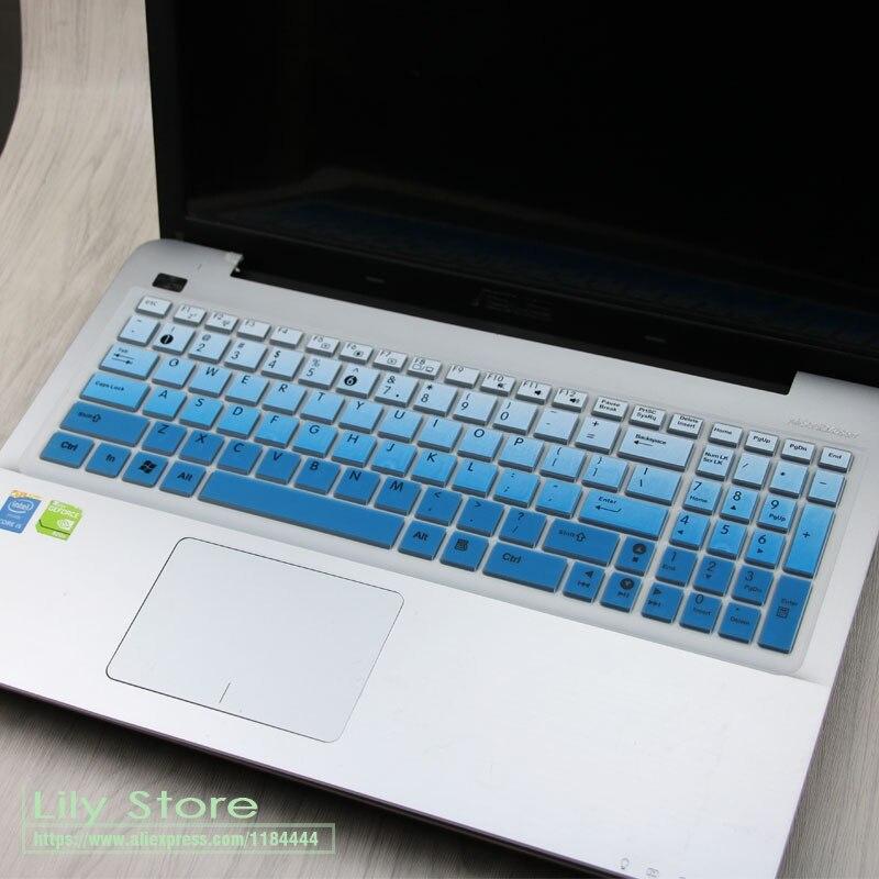 Для Asus VivoBook Max F541 F541SA F541SC F541UA F541UV F540UP F541UJ A540 F540 15,6-дюймовый силиконовый защитный чехол для клавиатуры