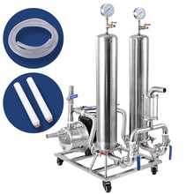 Double Type de Pot filtre à liqueur dacier inoxydable Machine automatique de vieillissement de liqueur
