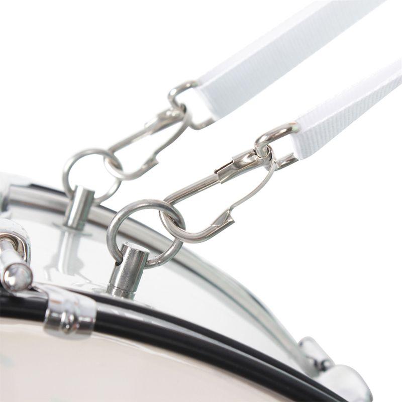 Cinturón de nailon ajustable con percusión, correa de bombo, Parade, tipo X,...