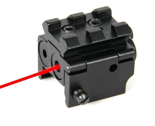 PPT Metal Mini 532nm láser rojo mirilla riel Picatinny desmontable para caza OS20-0023