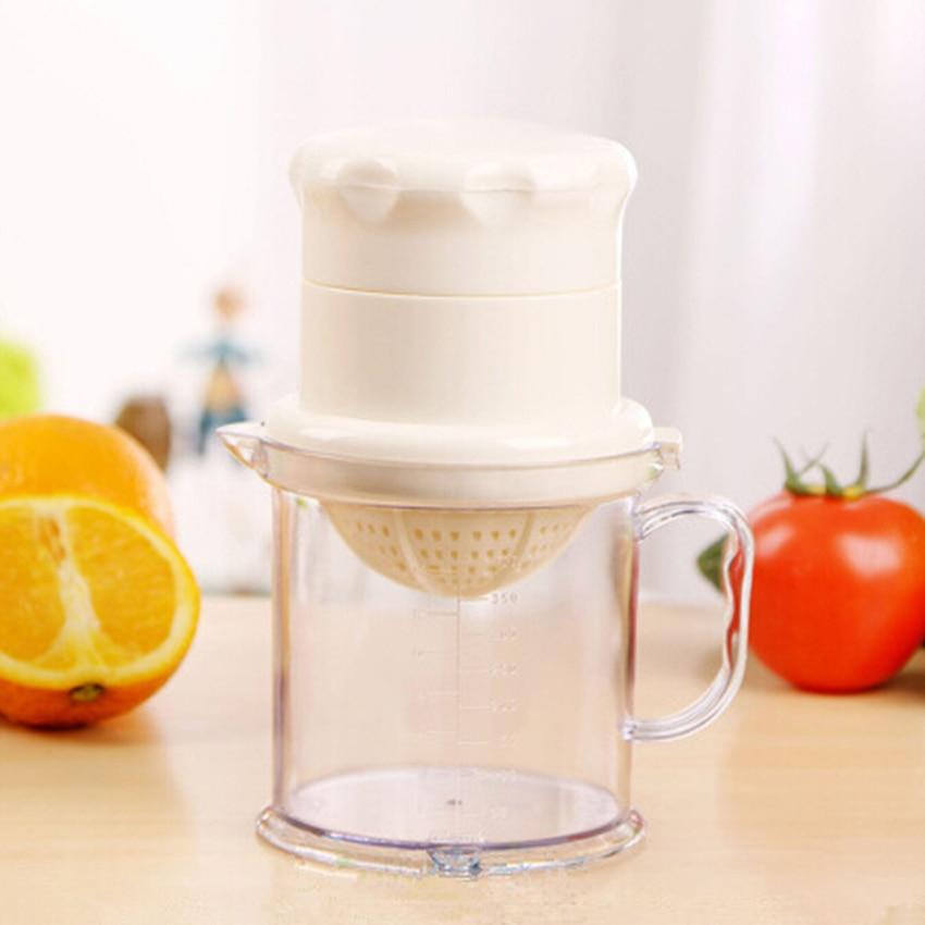 Juicer Fruit Juice Maker Drink Extractor DIY Manual Filter Cup Kitchen Tool