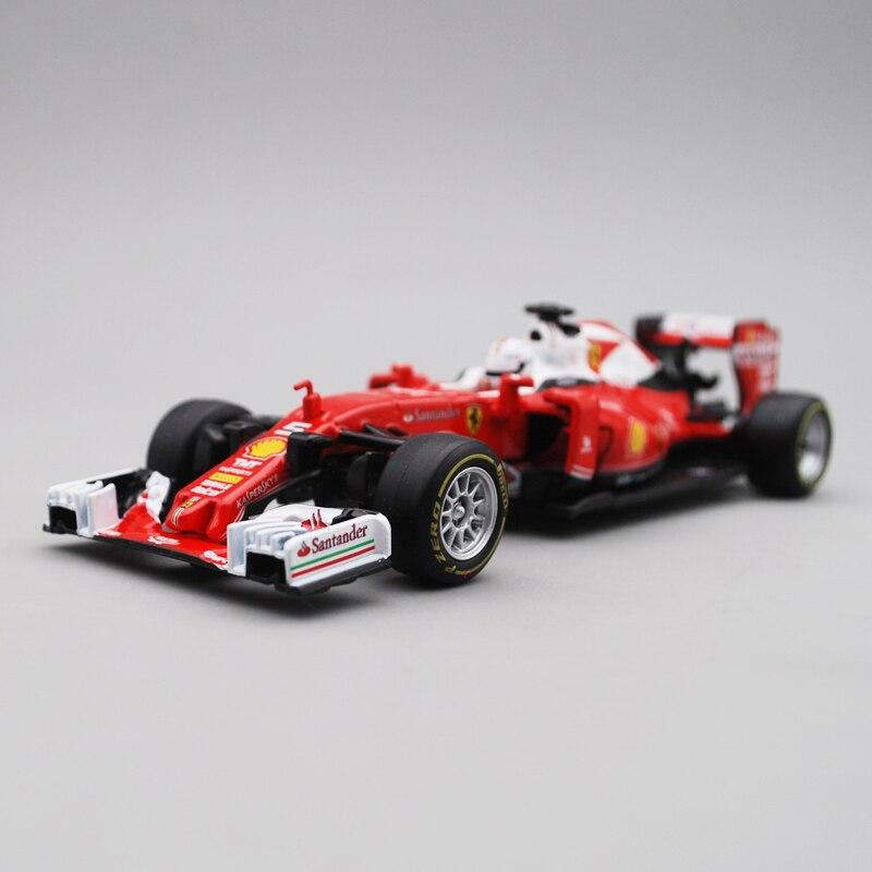Bimei Gao 1:32 SF16 H simulación F1 coche de carreras modelo Vettel n. ° 5 2016 ornamentos para Ferrari