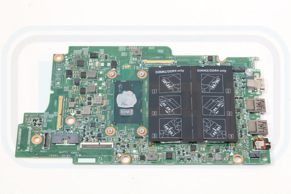 Original para Dell Inspiron 5568 Laptop Motherboard JV40X 6100U i3 2.3 ghz 100% Funcionar Perfeitamente