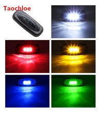 1x 12v For Ford F350 F450 LED For Fender Bed Auto Car LED Side Marker Turn signal Lights Lamps Smoke Lens UK style pick up car