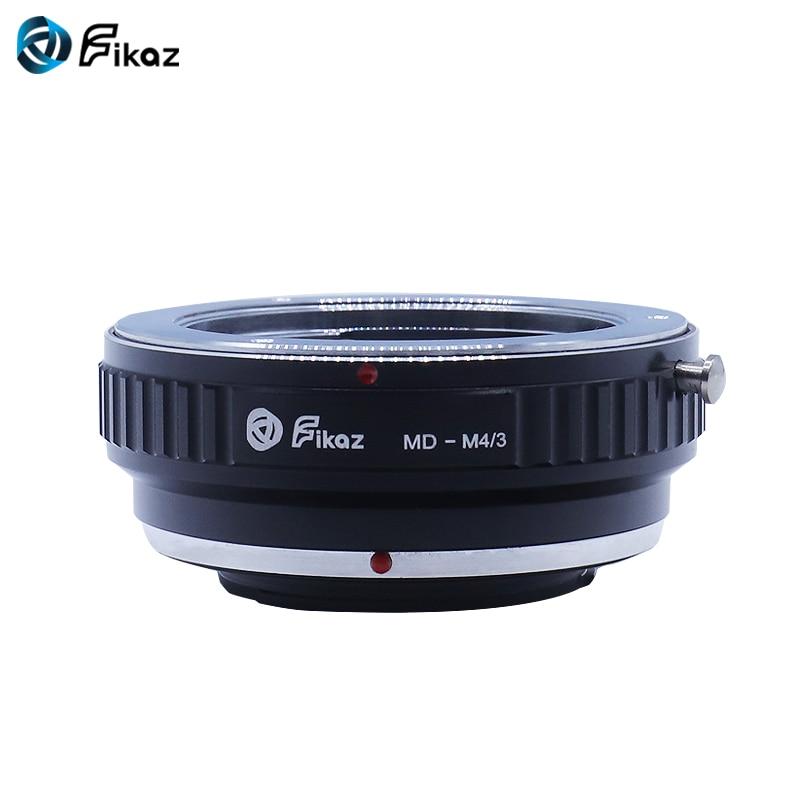 Fikaz MD-M4/3 Camera Anel Adaptador Para Minolta MD MC Lens para Micro 4/3 M4/3 Mount Para CANETA Olympus e Panasonic Lumix MFT