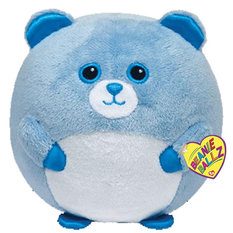 "Ty Beanie Ballz 4 ""10 см плюшевая игрушка Bluey куклы чучело медведь Коллекционная кукла с биркой"