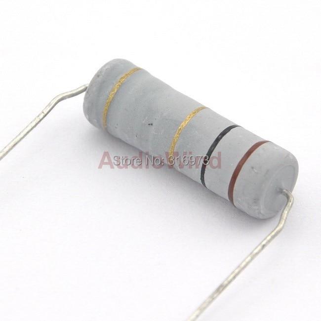(5 pcs/lot) Metal Oxide Film Resistors, 5W, 5 Watts, 1 OHM ~ 8.2 OHM Selectable.