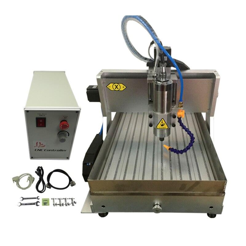 3040 CNC 4 ejes 1.5KW CNC router máquina de tallado de madera acero/aluminio/cobre fresadora máquina de grabado mach3 control