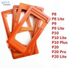 1 PCS Lijm Mal Lcd-scherm Glas Mold Houder Voor Huawei P8 Lite P9 Lite P10 Lite Plus P20 Pro lite