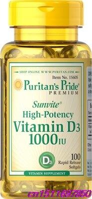 Pride vitamina d3 1000 iu 100 dentes de osso saudáveis auxiliares nutritivos essenciais na absorção de cálcio manter um sistema imunológico saudável