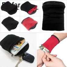 Forfar 1 pièces poignet portefeuille pochette bande cyclisme Sport portefeuille accessibilité haute qualité poignet portefeuille équipement de cyclisme