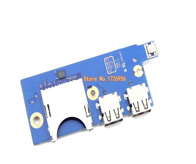 Para Samsung 500R5K 500R5H NP500R5K lector USB SD Placa de interruptor de alimentación ATLAS-15 USB BA92-14891A