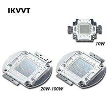 1/Psc 660nm Red LED COB Lamp Chip 10W 20W 30W 50W 100W Input Smart IC Driver Fit For DIY LED Floodlight Spotlight Bulb