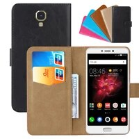 luxury wallet case for infinix note 4 pu leather retro flip cover magnetic fashion cases strap