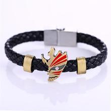 Bracelets en alliage danimation chaude MOSU bracelet en cuir et bracelet cosplay