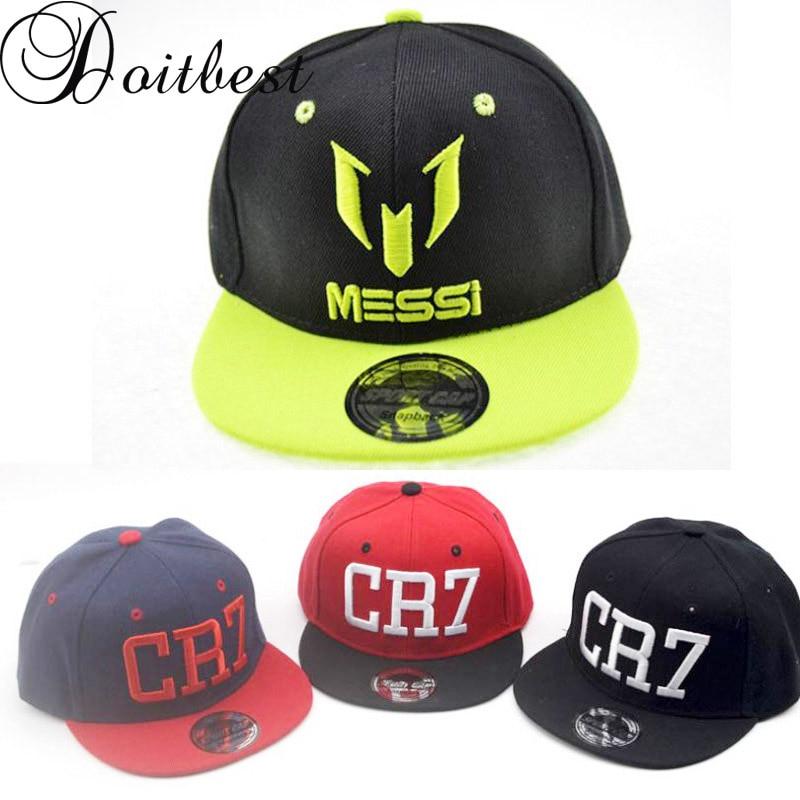 Doitbest Kinder Ronaldo CR7 Neymar NJR Baseball Kappe Hut Mode Jungen Mädchen Kinder MESSI Snapback Hüte Hip Hop Caps Gorras