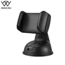 XMXCZKJ universel 360 rotatif support de téléphone Mobile pare-brise bureau support de téléphone de voiture pour iPhone Smartphone support cellulaire