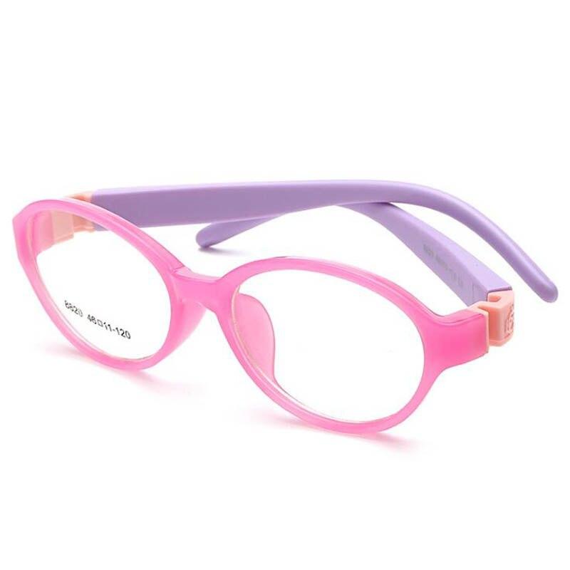 Gafas infantiles para niños, monturas desmontables de goma para piernas, gafas ópticas para niños, Sin tornillo seguro, lente de grado alimenticio TR