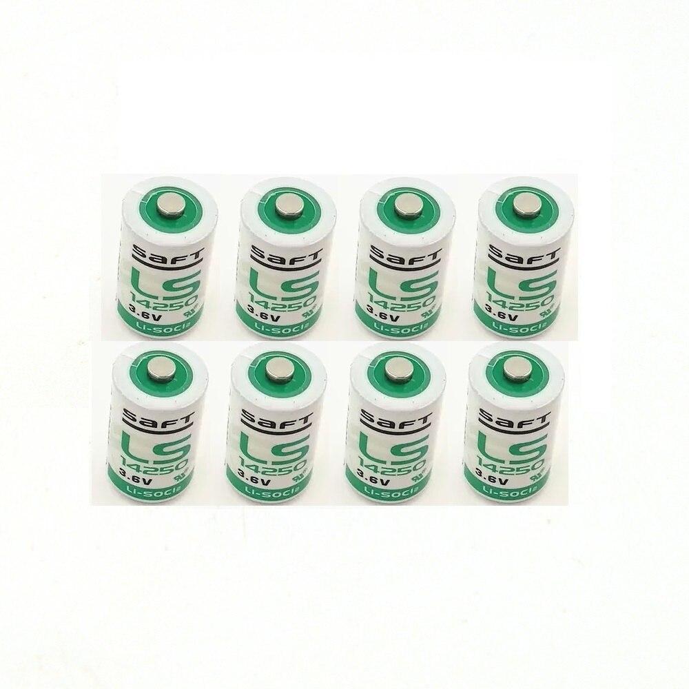 8 teile/los Neue hochwertige lithium-batterie LS14250 1/2AA 3,6 V PLC elektronische ausrüstung lithium-batterie