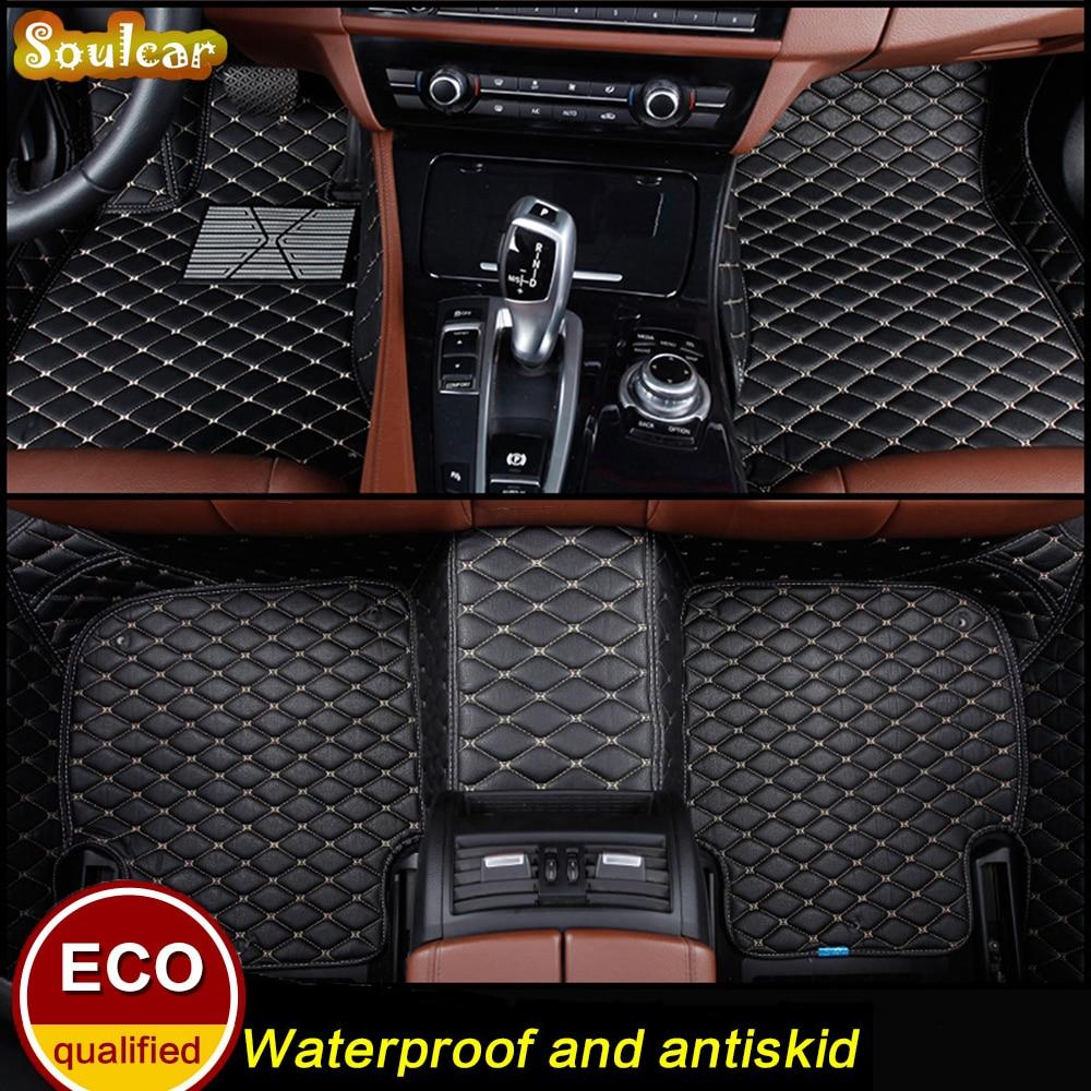 Custom Car floor mats for BMW 3 4 5 7 Series X1 X3 X4 X5 e60 e90 f30 f10 x5 e70 f20 2008 2009 2010 2011-2018 floor carpet rugs