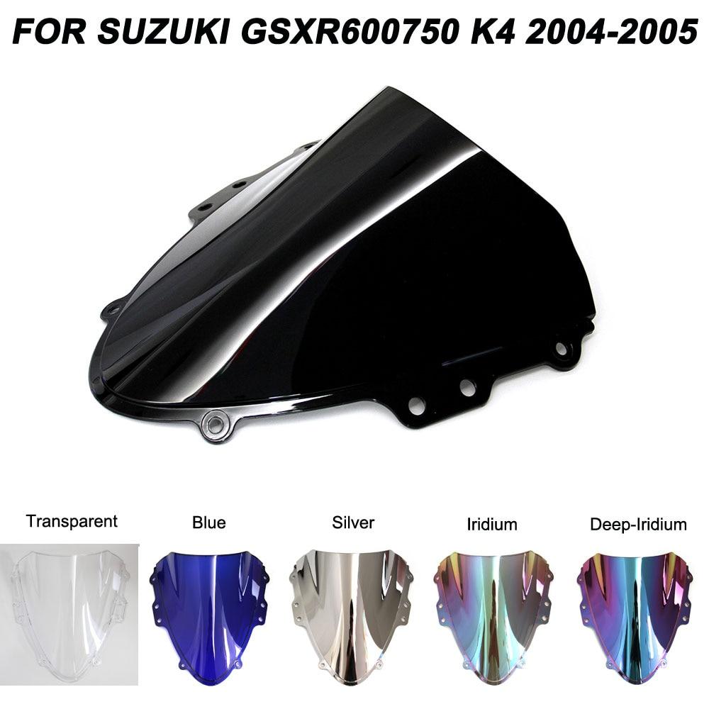 Motorcycle Windscreen Windshield GSXR 600 750 Screws Bolts Accessories For Suzuki GSXR600 GSXR750 2004 2005 Wind Deflectors