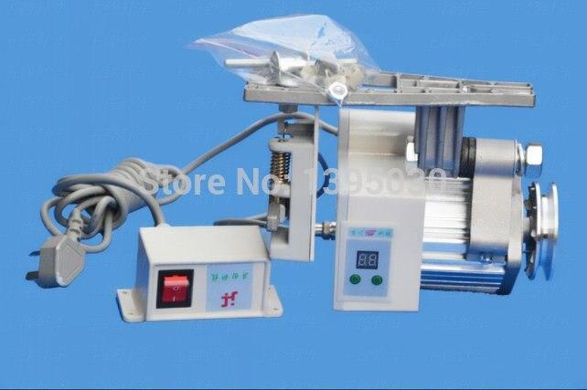 1pc 400 w industrial mudo servo motor de poupança de energia do fio de cobre sem escova para a máquina de costura