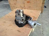 HV4 rotary table + honeycomb chuck milling machine rotary table HV4