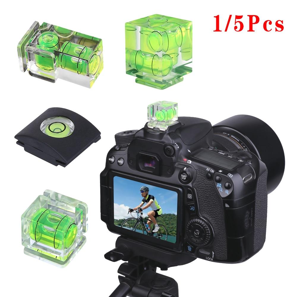Uniwersalny 1/2/3-osi 3D Hot Shoe Bubble poziomica Protector Cap DSLR pokrowiec kamery akcesoria do aparatu do aparatu Canon Nikon