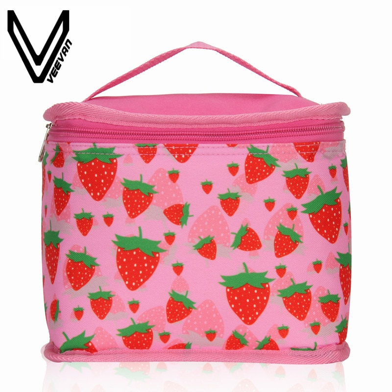 VEEVANV bolsas térmicas para el almuerzo de los niños de la Escuela de la caja de almuerzo bolsa de picnic de comida chicas portátil refrigerador aislado bolsas chicos contenedor de almacenamiento