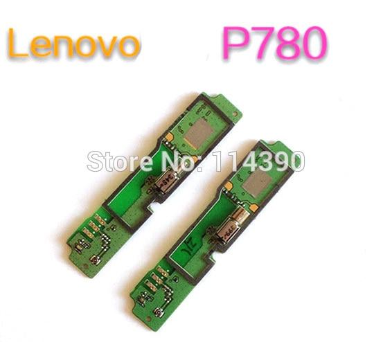 Piezas de reparación vibrar Moto Microphone Board Dock Circuits para Lenovo P780 alta calidad probada