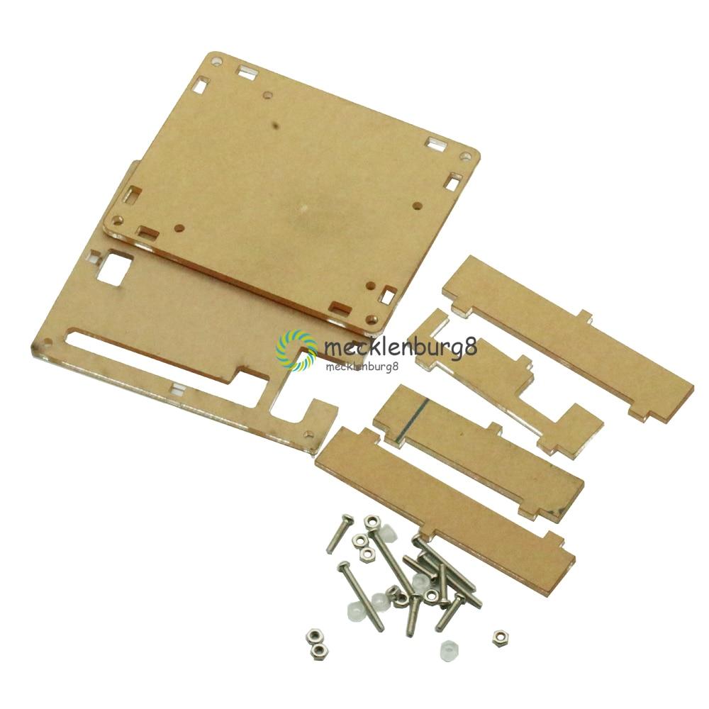 UNO R3 Base de Acrílico Transparente Caso Tampa Transparente Módulo Board para Arduino Uno R3 Módulo Board