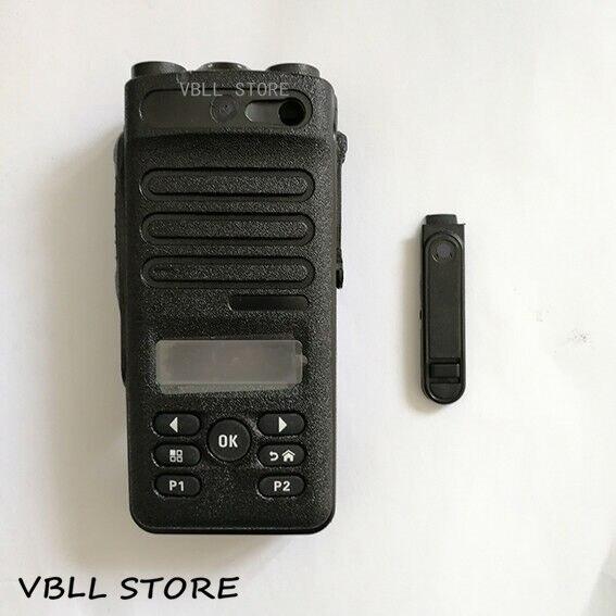 PMLN5810 Kit de reparación de repuesto negro Funda para Motorola XIRP6620 XIR P6620 Walkie Talkie Radio portátil