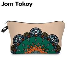 Jom Tokoy Cosmetic Organizer Bag Make Up 3D Printing Cosmetic Bag Fashion Women Brand Makeup Bag Hzb909