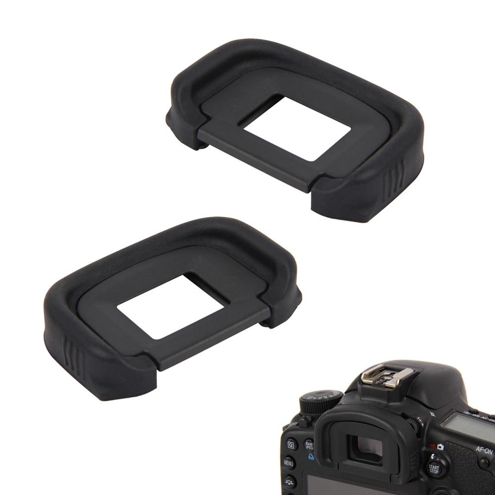 2 uds visor, por ejemplo, Eyecup ocular extensores para Canon 5D Mark III IV 3 5DS 5DSR 7D MK2 1DX 7D Mark II 1DS 1D Mark II III IV
