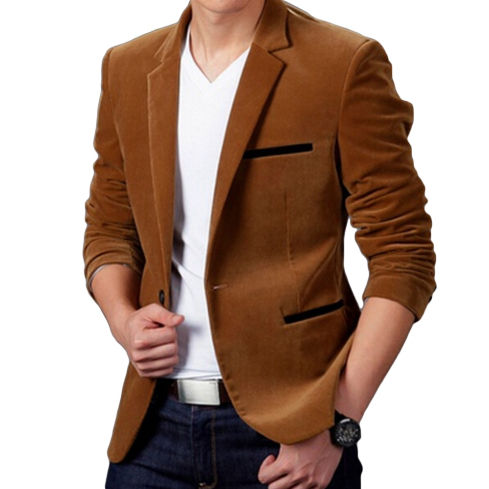 Luxury Men Blazer New 2020 Autumn Fashion Brand High Quality Classic Busines Coat Slim Fit Men Suit