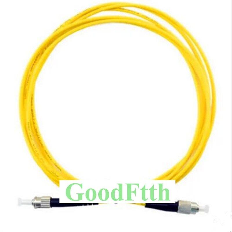 Волоконный соединительный кабель FC-ST ST-FC UPC SM симплекс GoodFtth 100-500 м