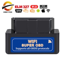 2019 elm327 v1.5 OBD2 Wifi диагностический инструмент super mini elm 327 bluetooth V2.1 работает на Torque для Android/IOS/Windows