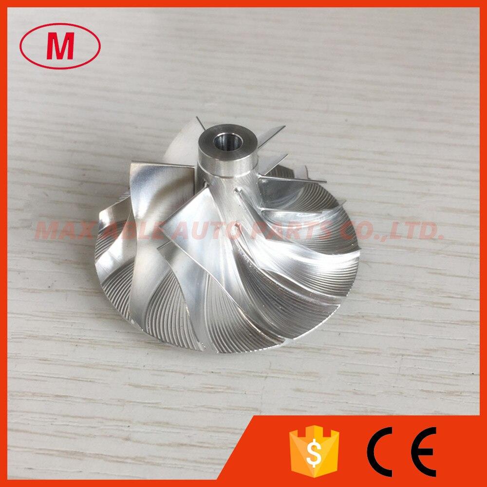 GT15-25/37,68/56,03mm 436563-0003 6 + 6 hojas de palanquilla Turbo/fresadora rueda de compresor para 711736