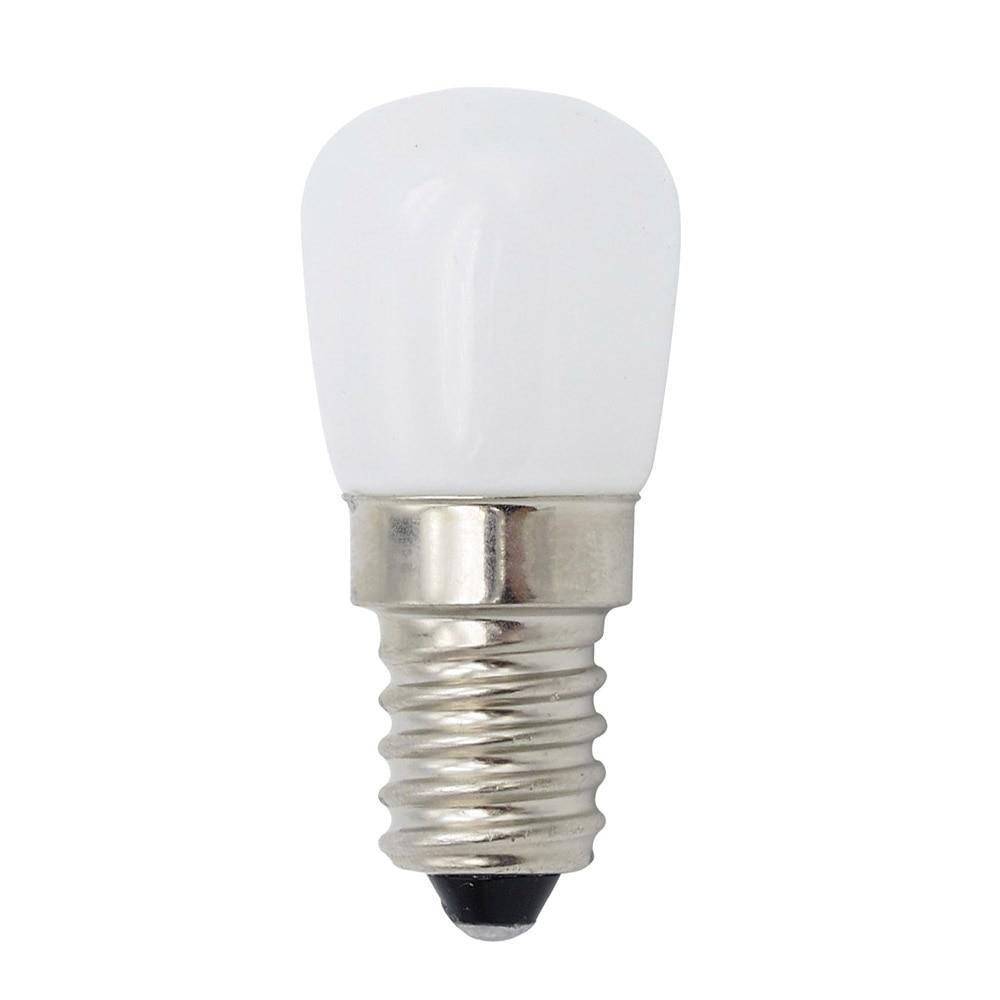 Мини E14 COB светодиодный светильник Blub 2835 SMD стеклянная лампа для холодильника морозильник швейная машина домашнее освещение
