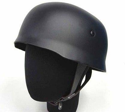 Soldado alemán falschirmjagrer M38 casco negro