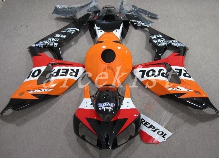Kit de carenado ABS nuevo para moto compatible con Honda CBR1000RR 06 07, juego de carenados CBR 1000 RR 2006 2007, personalizado, repsol lo mejor en ventas