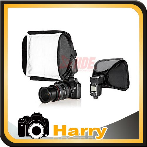 23*23 cm Flash Softbox difusor para Flash Canon 580, denominada EXII 580EX 430, denominada EXII 550EX SB600 SB900 SB700