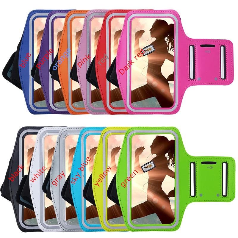 Funda de banda de brazo de gimnasio para teléfono móvil para Samsung galaxy S3 S3 Mini bolsas de teléfono bolsa de brazalete ajustable caso