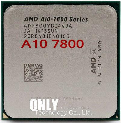 Четырехъядерный процессор AMD A10-Series A10 7800, 3,5 ГГц, процессор AD7800YBI44JA / AD780BYBI44JA Socket FM2 +